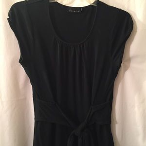 Limited, Small, navy dress. V neck